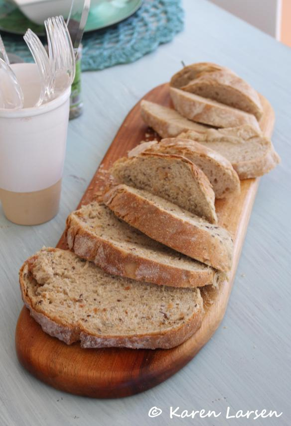 Crusty bread, the way the French love it!