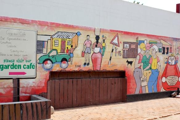 Street art - Swakopmund
